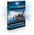 Thumbnail Article Cannon - Fire Hordes of Free Traffic at Your Site!